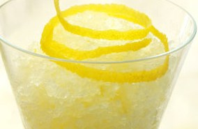 γρανίτα λεμόνι - συνταγή