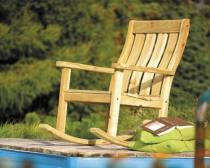 Κουνιστή καρέκλα για τον κήπο