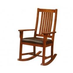 Κουνιστή πολυθρόνα από μασίφ ξύλο Δρυ