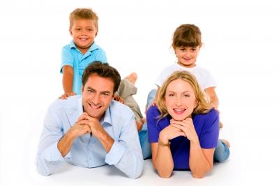 ηρεμία στην οικογένεια