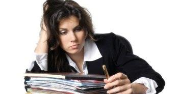 το άγχος της δουλειάς στο σπίτι