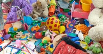 τακτοποίηση παιδικού δωματίου