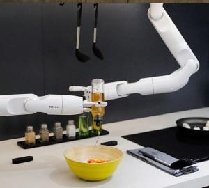 Chef Bot - Braços Robóticos da Samsung
