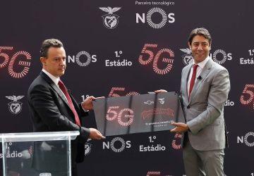 Benfica tem o primeiro estádio 5G