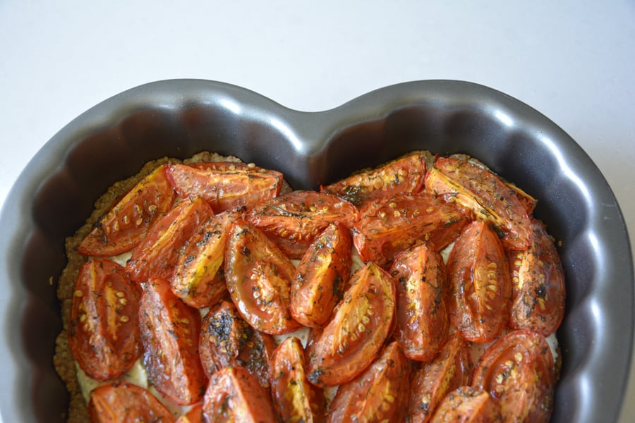 Dill and Roasted Tomato Tart