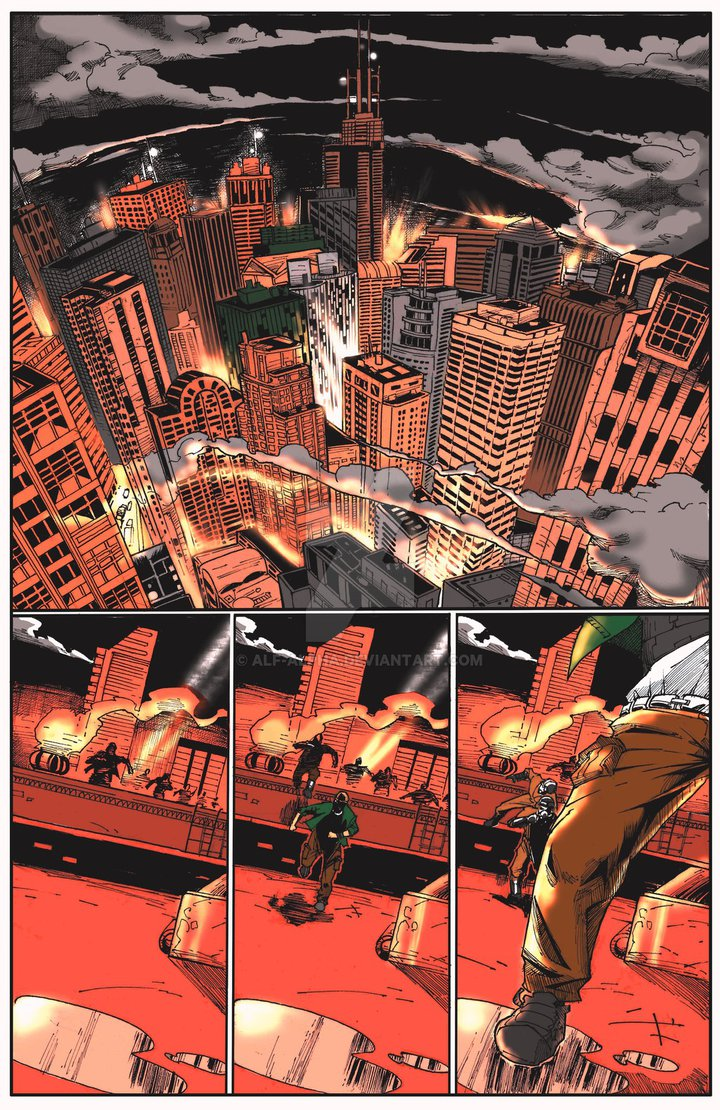 life time Issue 1 pg1 colors