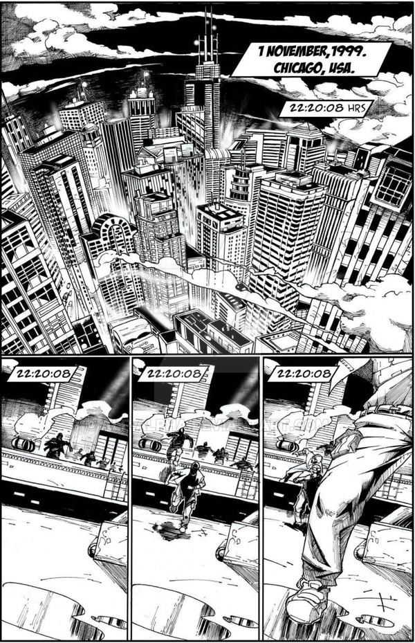 Life-Time #1 pg 1