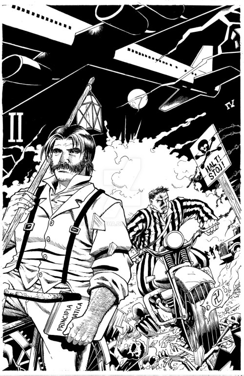 LIFE-TIME Issue 1 Cover by Pramit