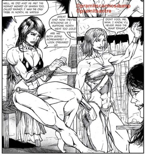 Lady Warriors pg.9b by Pramit