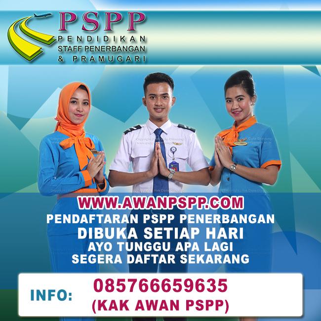 penutupan pendaftaran sekolah pramugari PSPP, Penutupan Pendaftaran Sekolah Pramugari PSPP
