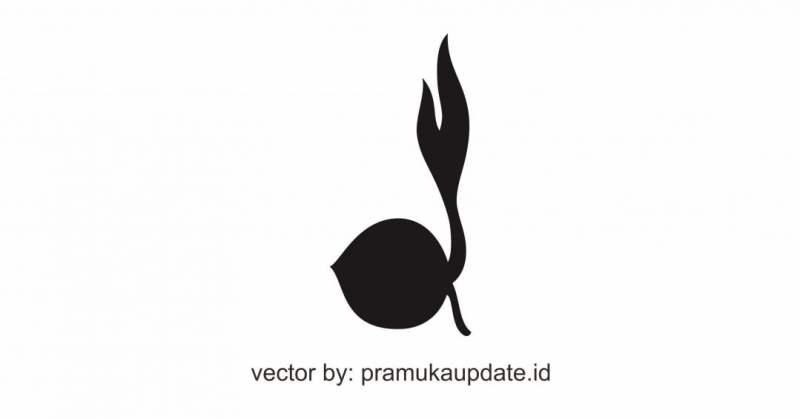 Vector Logo Gerakan Pramuka - Gambar Tunas Kelapa