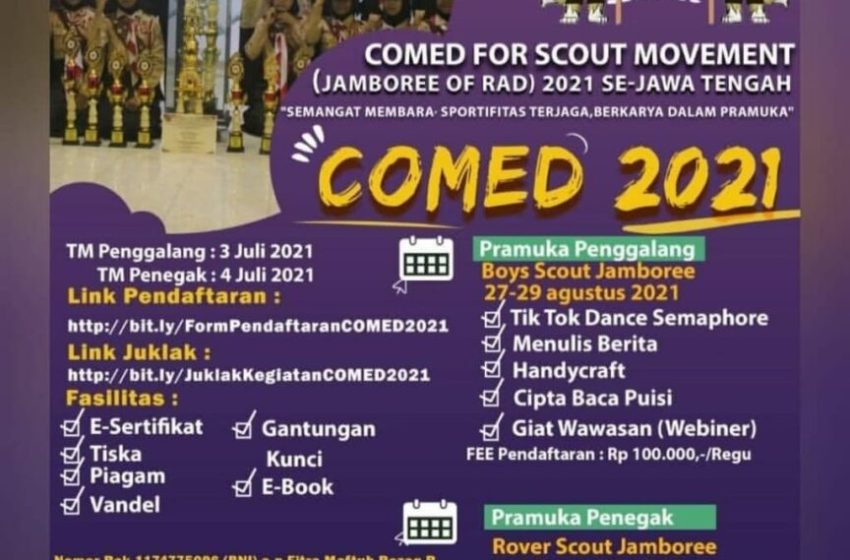 COMPETITION AND EDUCATION FOR SCOUT MOVEMENT