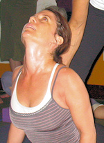 Photo of yoga practitioner