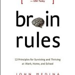 Photo: book cover art of Brain Rules