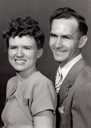 Photo: couple in the late 1940s