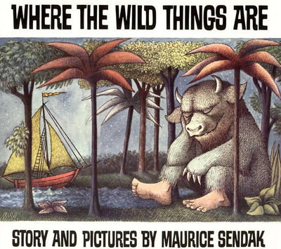 Graphic: cover of Where the Wild Things Are
