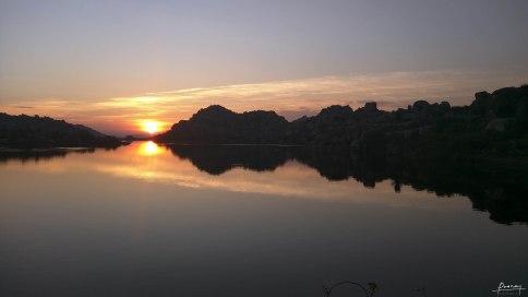 Sunrise by Lakeside