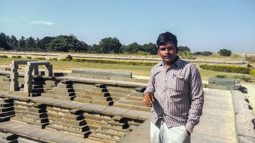 My guide, Manjunath