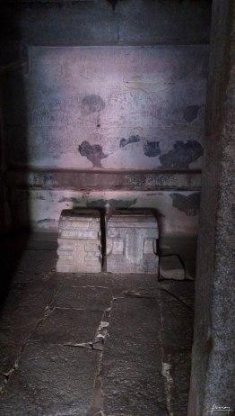 The place where Vitthala and Rukmini idols were placed