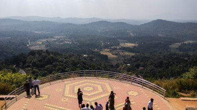 Valley View from the Raja Seat