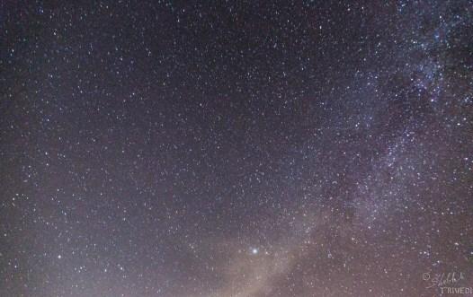 Milky Way in the sky