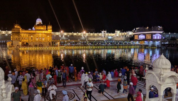 First View Of The Golden Temple