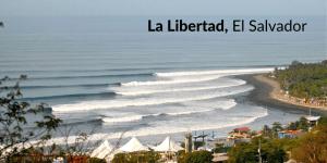 surf la libertad el salvador