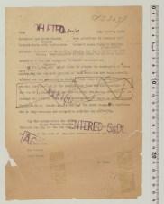 Kyodo Tsushin, 12/22/1947 (Call No. 47-loc-1899) Censorship Action: Delete