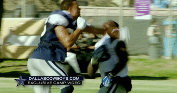 Dez Bryant punched Tyler Patmon during Cowboys Training Camp Practice