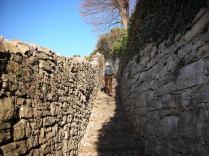 the Scorlazzino steps