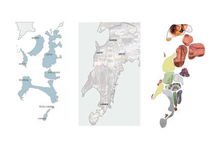 Evolution of Islands into Single Mass of Bombay