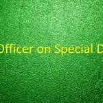 Environment Minister Looks for an Officer on Special Duty