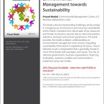 My New Book - Environmental Management Towards Sustainability