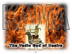 Kama Vedic God of Desire