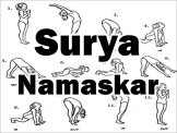 Surya Namaskar Diagram Slide
