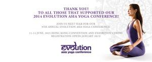 Evolution Asia Yoga Conference 2015