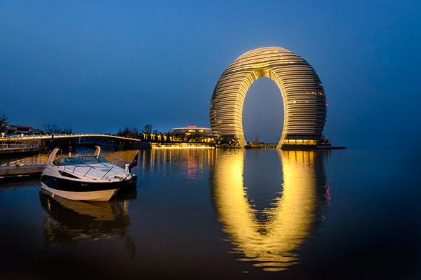 Sheraton-Huzhou-Hot-Spring-Resort,-Suzhou