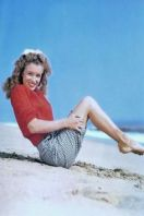 Marilyn Monroe Boat Pose Beach 1945