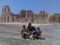 2009 Sabratha..A diary by the Mediterranean sea