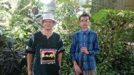 2015 Toronto Botanical Gardens-July-Sahil now taller than me