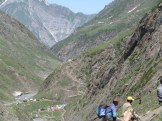 One can see Baltal Route..