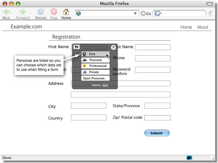 Sxipper: Mozilla Firefox Addon (3/6)
