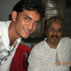 Prasobh Ramachandran with Hariharan