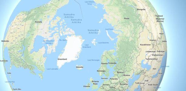 penegrtian samudra arktika