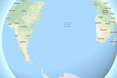 penegrtian samudra atlantik