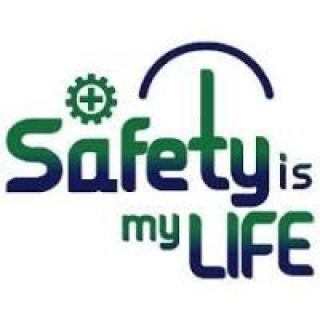 logo safety is my life