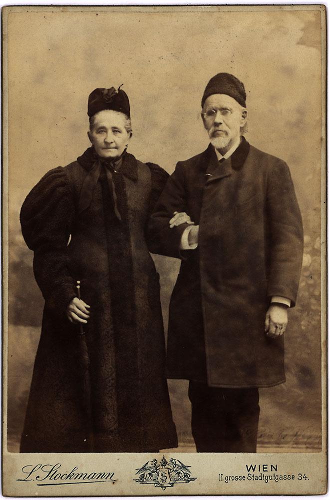 Mutter Johanna Dorothea Emilie und Vater Ernst Christian