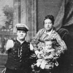 Nikolai Kobelkoff, Anna Kobelkoff und Sohn Alexander