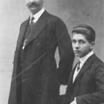 Ehemann Carl und Sohn Karl