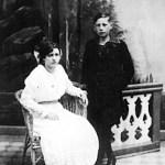 Albert Kobelkoff und Schwester Helene